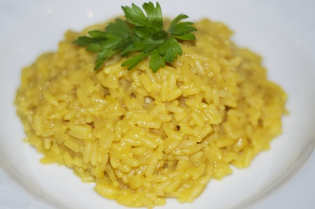 risotto,safron,easy everyday italian food